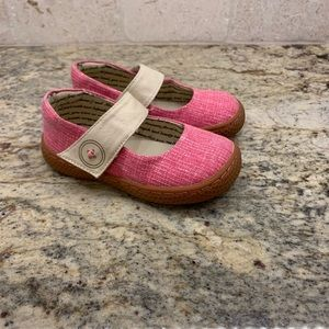 Livie and Luca Pink Mary Janes Size 8